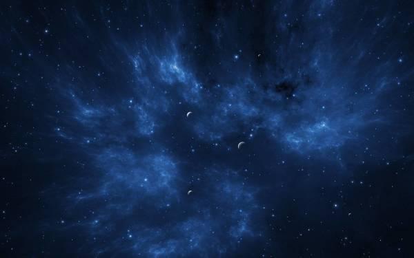 Бескрайний космос на фотообоях