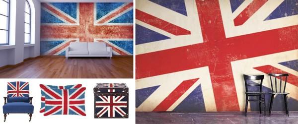 Фотообои и элементы декора с национальным флагом