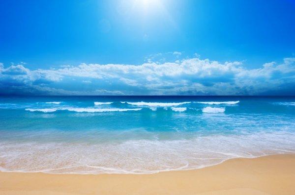 Фотообои с видом на бескрайние морские просторы