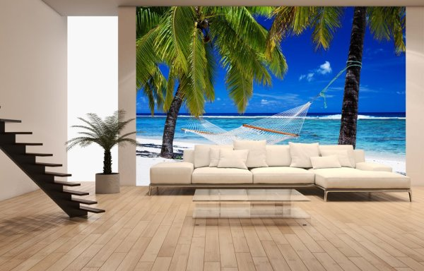 Гамак, пальмы и море: райский уголок, не выходя из квартиры