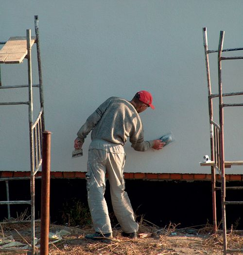 Гипсовая фасадная штукатурка – экологически чистое покрытие для жилого дома