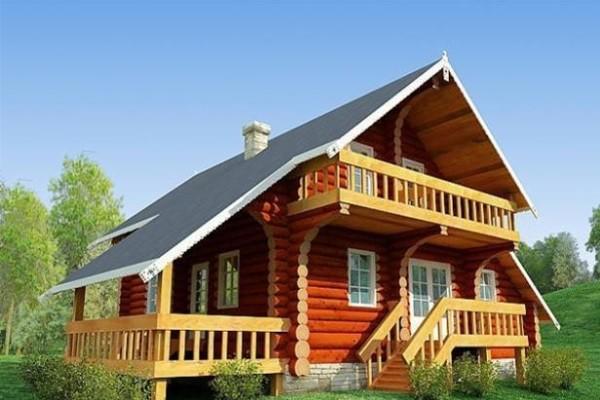 Как правильно красить деревянный дом