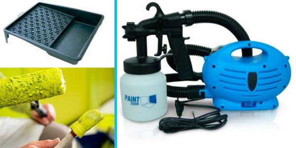Комплект инструментов для покраски стен
