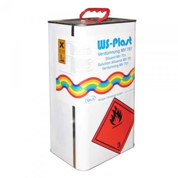 На фото, специальный растворитель для кузнечной краски