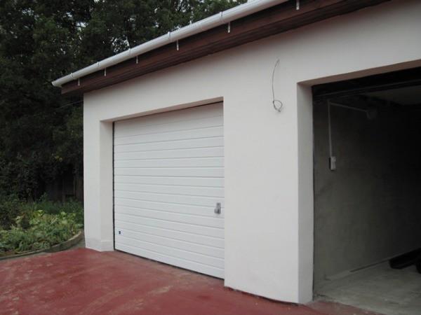 Наружная штукатурка стен в гаража