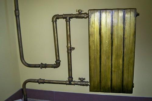 Покрытие биометалических радиаторов