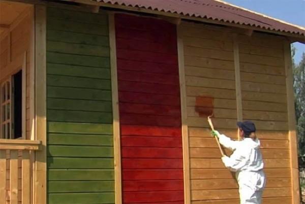 Применение акрила для покраски фасада