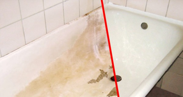 Реставрация ванны – результат налицо