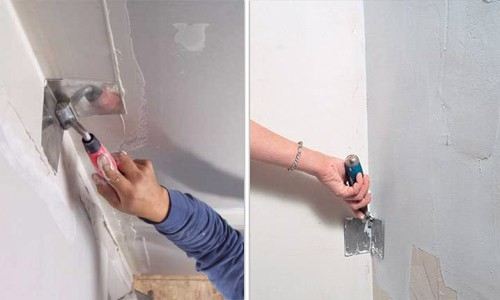 Шпаклевка наружных и внутренних углов стен