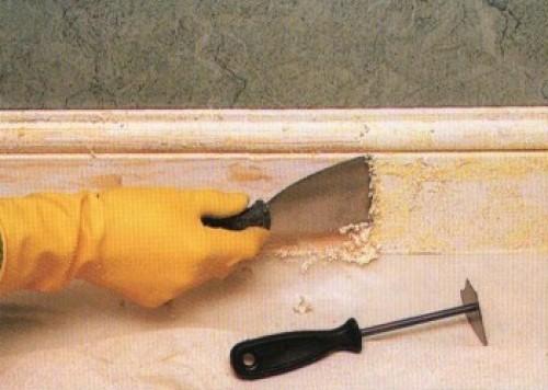 Снятие старой краски с деревянных поверхностей