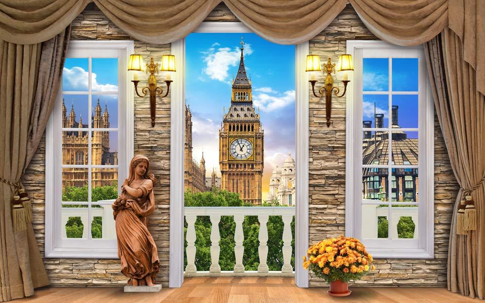 Окно в Лондон