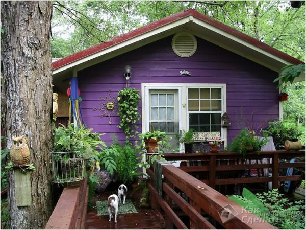 Чем красить деревянный дом снаружи
