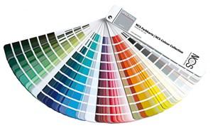 Диапазон цветов красок