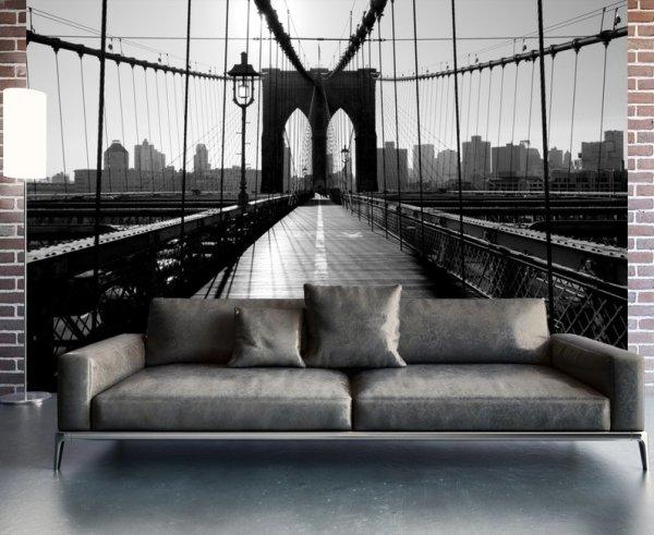 Фотообои с выходом на Бруклинский мост
