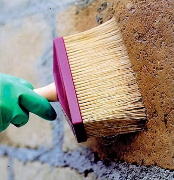 Грунтовка бетонного забора