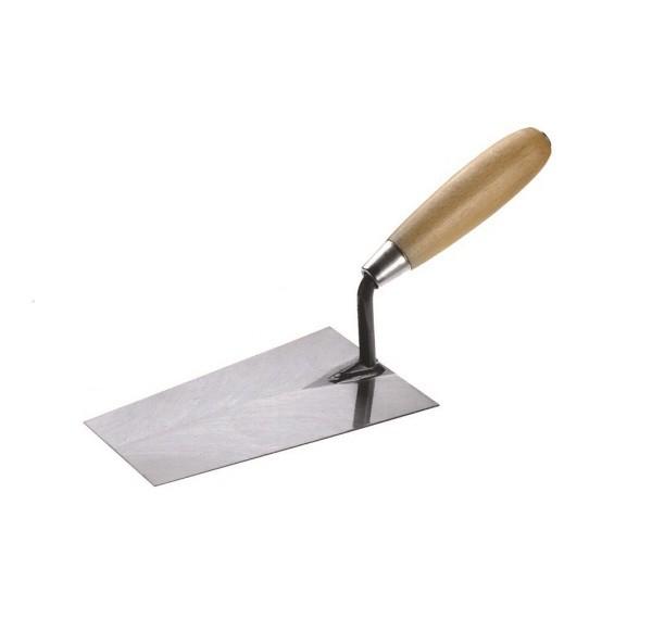 Инструмент для штукатурки стен: кельма отделочная