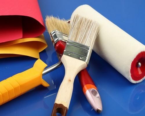 Инструменты для покраски окон