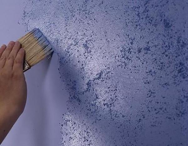 Использование уничтожителя краски для стен