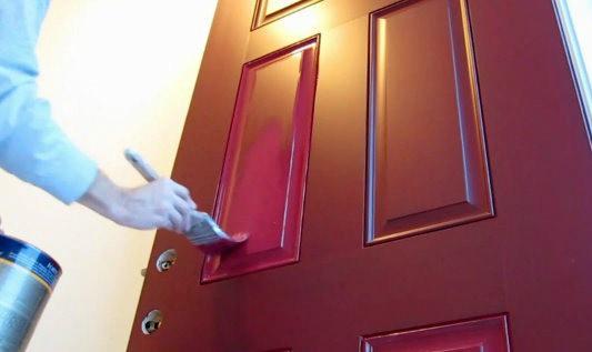 Как самому шикарно покрасить межкомнатные двери? - фото