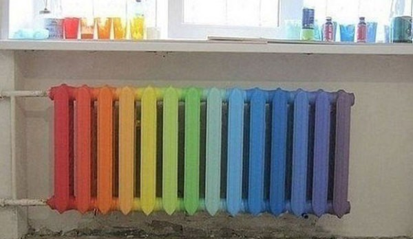 Как красить радиаторы отопления