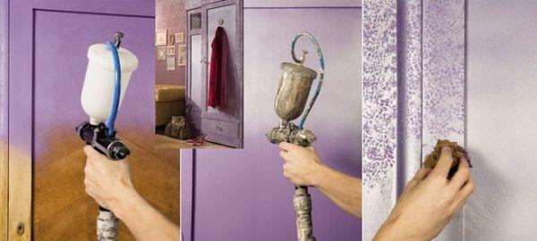какие краски надо красить старую стенку производители термобелья используют