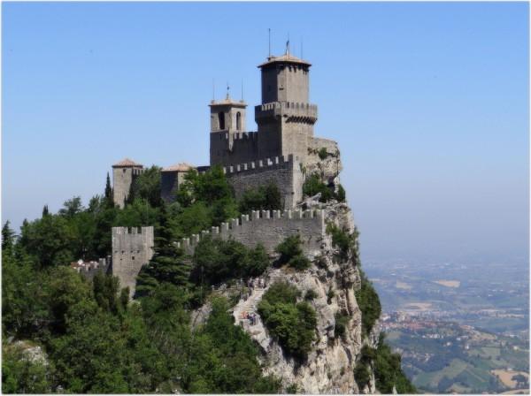 Крепость Гуаита в Сан-Марино