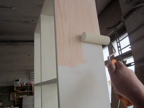Можно ли покрасить шкаф из дсп