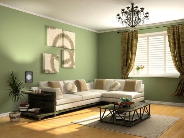 На фото, сочетание светлой мебели со светлыми обоями
