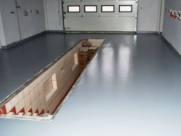 Окраска бетонного пола