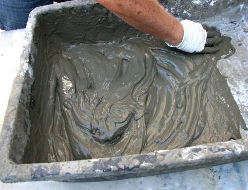 Приготовление раствора для оштукатуривания стен
