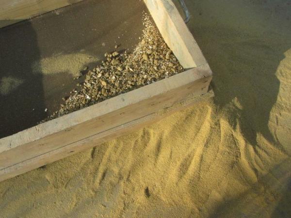 Просеивание песка через сито – это важно