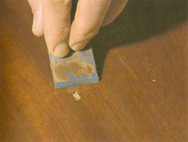 Процесс реставрации поверхности