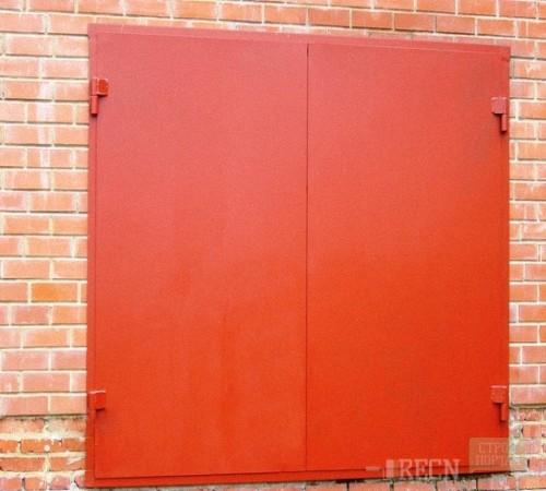 Счетание цвета ворот и стен гаража
