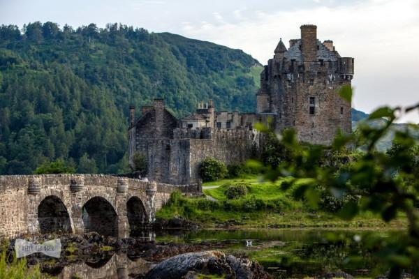 Шотландский замок Эйлен-Донан
