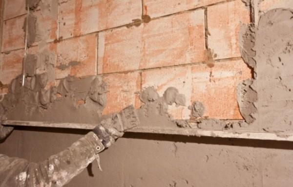 Штукатурка цементная ветонит
