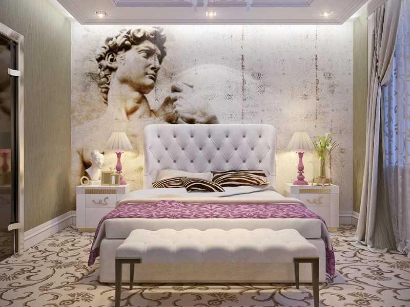 Фотообои в античном стиле, для классической комнаты девочки