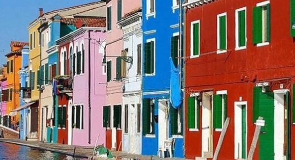 Фасадная цветная штукатурка всех цветов радуги