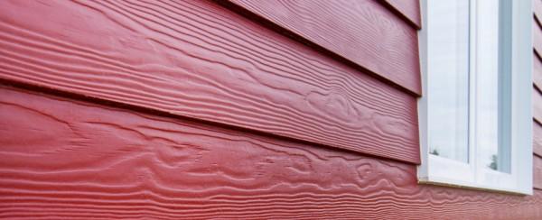 Фибросайдинг Кедрал имитирует деревянную отделку