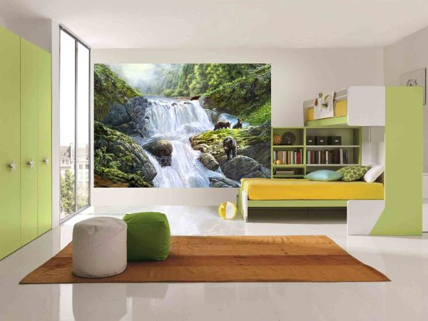 Фотообои для девочек в комнату в стиле минимализм