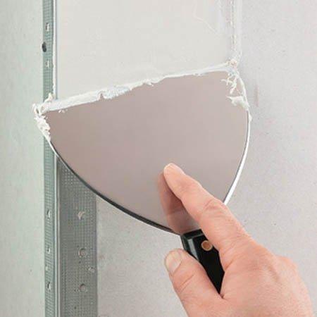 Как шпаклевать угол стены
