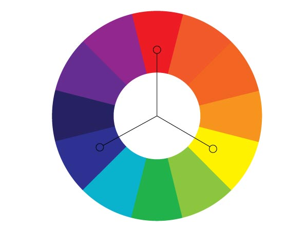 Колесо цвета