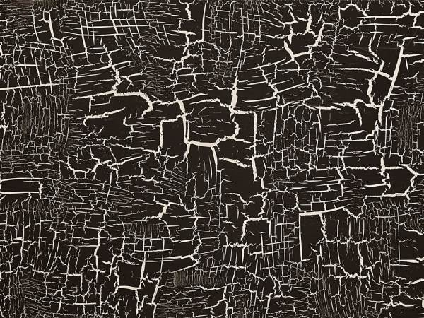 Контрастное выделение трещин