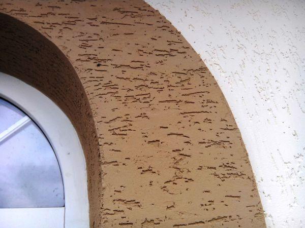 Оштукатуривание наружных стен камешковой штукатуркой