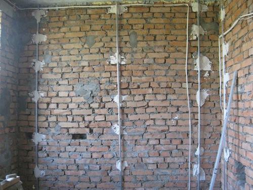 Подготовка стен под шпаклевку