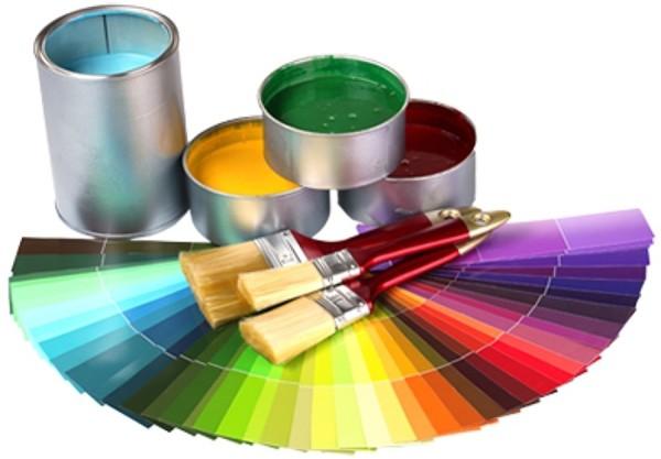 Полная палитра оттенков краски