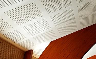 Потолок из акустического гипсокартона