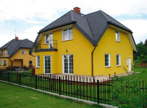 Сочетание цветов в покраске дома