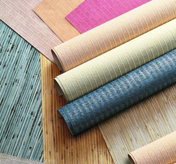 Текстурные виниловые обои