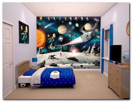 Тематические фотообои для детской комнаты
