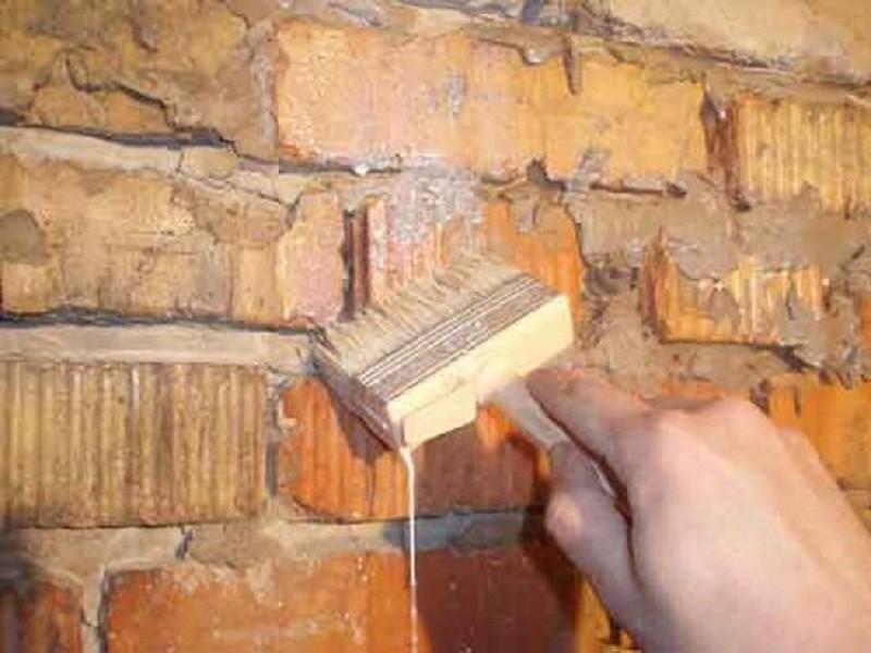 Штукатурка на кирпичную стену 176
